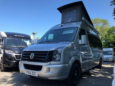 Used Vw Crafter Camper Conversion 2015 motorhome Image