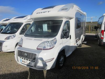 Used Swift Voyager 630 EK 2011 motorhome Image
