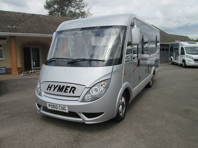 Used Hymer Hymer Exsis EX 562 Silver 2010 motorhome Image